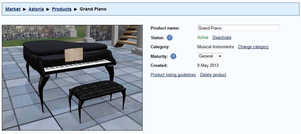 Product Properties